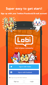 screenshot of Lobi Free game, Group chat version Varies with device