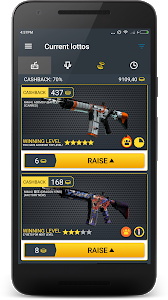 screenshot of M4A4 Lotto skins version 0.1.47