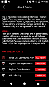 screenshot of MSI GameBot version 1.24