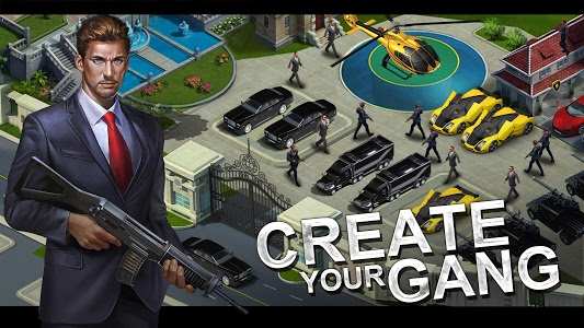 screenshot of Mafia City version 1.3.61