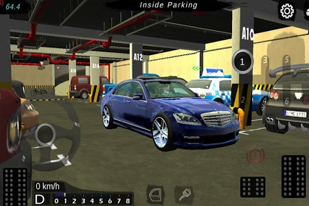 screenshot of Manual gearbox Car parking version Varies with device