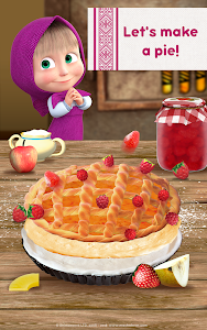 screenshot of Masha and Bear: Cooking Dash version 1.2.20
