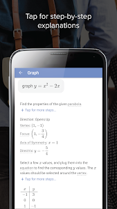 screenshot of Mathway version 3.3.18.2