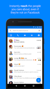 screenshot of Messenger version Varies with device