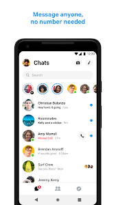 screenshot of Messenger – Text and Video Chat for Free version 31.0.0.34.249