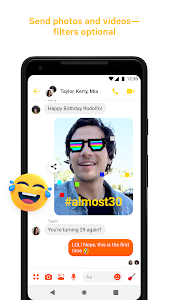 screenshot of Messenger – Text and Video Chat for Free version Varies with device