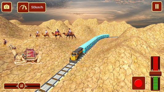 screenshot of Metro Racing Train Driving: Free Game version 1.0