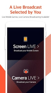 screenshot of Mobizen Live Stream for YouTube - live streaming version 1.2.9.11