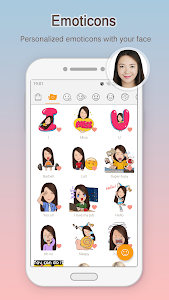 screenshot of MomentCam Cartoons & Stickers version Varies with device