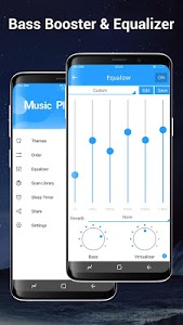 screenshot of Music Player Pro version 2.9.5