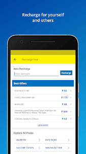 screenshot of My Idea-Recharge and Payments version 4.2