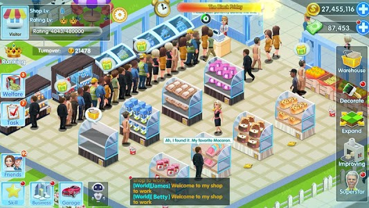 screenshot of My Supermarket Story : Store tycoon Simulation version 2.9