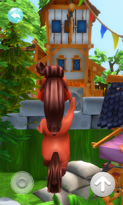 screenshot of My Talking Horse version 1.0.4