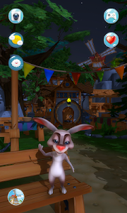 screenshot of My Talking Rabbit version 1.0.3