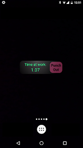 screenshot of My Work Clock version Varies with device