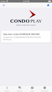screenshot of CondoPlay Morador version 9.0