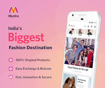 screenshot of Myntra Online Shopping App version 3.33.3