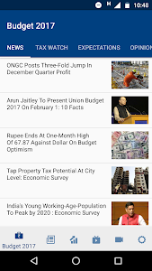 screenshot of NDTV Profit version 3.4.5