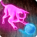 Neon Cat Tom Hologram
