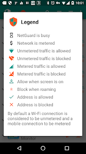 screenshot of NetGuard - no-root firewall version 2.229