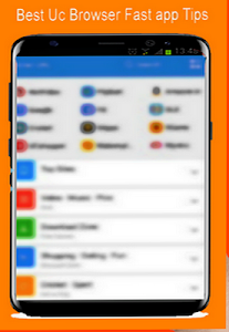 screenshot of New UC Browser 2017 Fast Download tips version 1.0