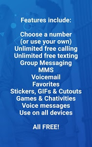 screenshot of Nextplus Free SMS Text + Calls version 1.8.2