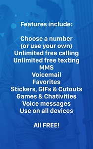 screenshot of Nextplus Free SMS Text + Calls version 1.6.5