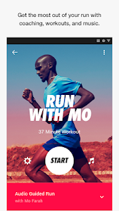 screenshot of Nike Run Club version Varies with device
