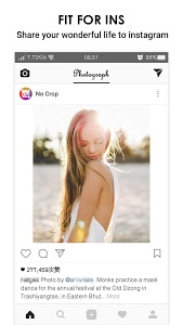 screenshot of No Crop & Square for Instagram version 4.2.3