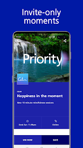 screenshot of Discount Tickets, Spa Vouchers & more: O2 Priority version 6.3.9