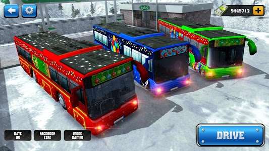 screenshot of Off-Road Hill Bus Driving 2017 version 1.1