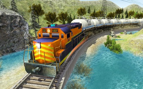 screenshot of Oil Train Simulator 2019 version 2.5