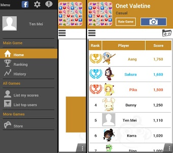 screenshot of Onet Connect Valentine version 5.0