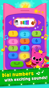 screenshot of PINKFONG Singing Phone version 9
