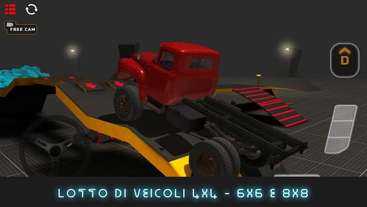 screenshot of [PROJECT:OFFROAD] version 66