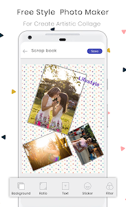 screenshot of Photo Collage Maker Editor PicGrid Snappy Stickers version 27.05.287