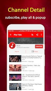 screenshot of Play Tube : Video Tube Player version 1.1.2