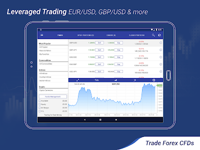 screenshot of Plus500: CFD Online Trading on Forex and Stocks version 12.0.0