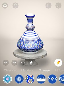 screenshot of Pottery.ly 3D– Relaxing Ceramic Maker version 1.3.3
