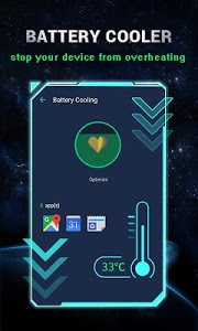 screenshot of Power Battery - Battery Life Saver & Health Test version 1.9.9.5