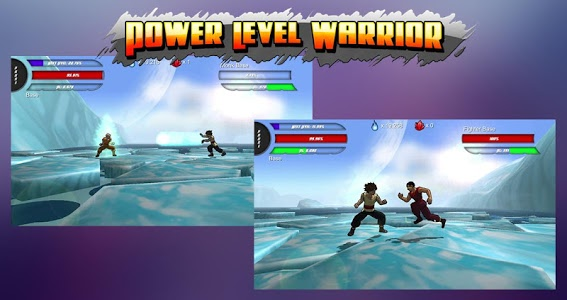 screenshot of Power Level Warrior version 1.1.7p1