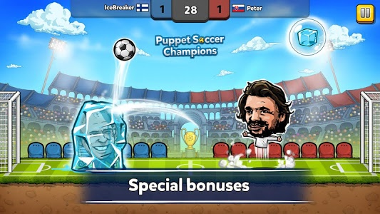 screenshot of ⚽ Puppet Soccer Champions – League ❤️? version 1.0.70