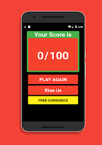 screenshot of Quiz For Free Fire Diamonds version 1.0