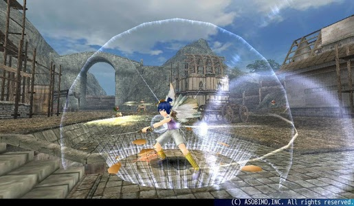 screenshot of RPG Toram Online version 3.2.66