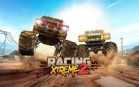 screenshot of Racing Xtreme 2: Top Monster Truck & Offroad Fun version Varies with device