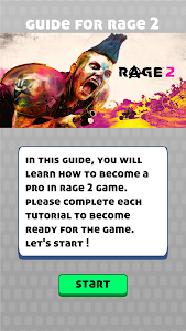 screenshot of Rage 2 - How to ? version 1.0.3