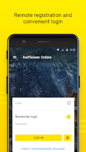 screenshot of Raiffeisen Online Ukraine version 1.46.20