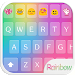 Rainbow Love - Emoji Keyboard with Call Screening