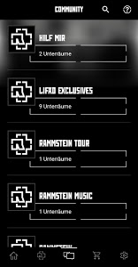 screenshot of Rammstein version 1.0.5