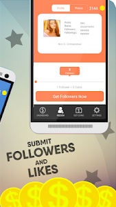 screenshot of Real Followers VIP version 1.0.0